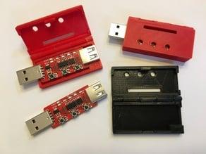 Enclosure for USB QC tester