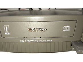 Goldstar 3DO drive tray badge