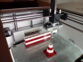 Traffic Cone for Mutli-Material Printing