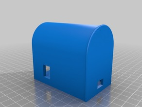 IoT E-Mailbox Case with Wia Dot One and Servo