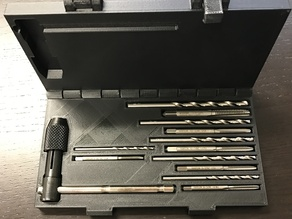 Taps and drills case - print in place