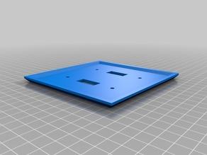 My Customized WALLYPush Stick  - Wall Plate Customizer with edited keystone functionality