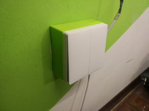 Xiaomi Aqara Wall Switch - Surface-mounted on Europe 60mm wall box