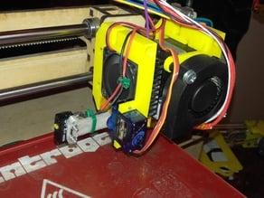 MK8 Inductive, Servo, and Blower for Prusa i3