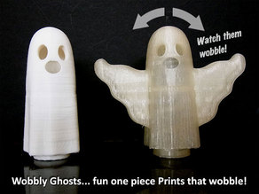 Wobbly Ghosts!