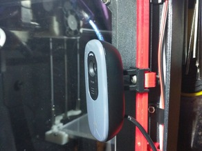 Interior webcam mount
