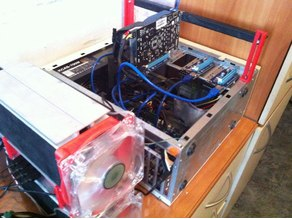Old computer to mining farm