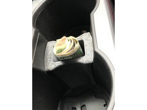 Box for cup holder Ford Escape / Kuga