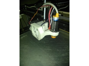 Tronxy X5S - Holder 18mm sensor & case fan 4010