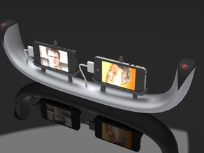 3D Stereo iPhone Camera Mount