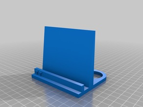 Universal phone/tablet stand for photographing