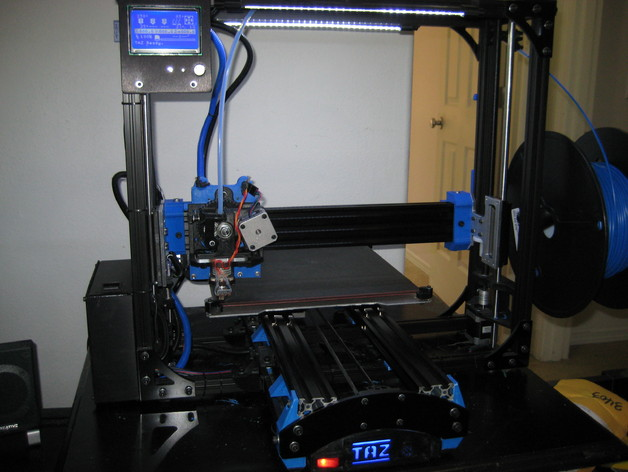 Openbuilds v-slot Y axis for Lulzbot TAZ 3, 4, 5 or 6