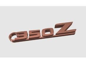Nissan 350Z keychain