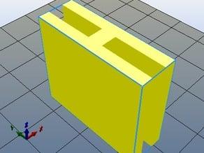 Craft-A-Bot H 25.4mm