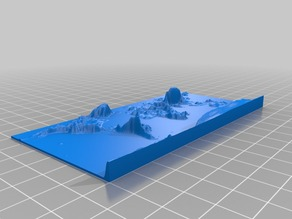 request for comments and remix: 3D World WGS84 Printed for the use of the Blind