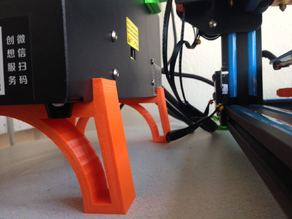 CR10 Control Box Legs (Stand)