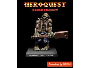 Heroquest Zombie Resculpt