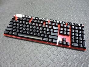 Mechanical ALPS Keyboard With 20 Macro Keys