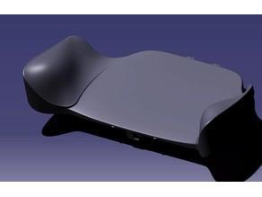 Steam controller grip mod