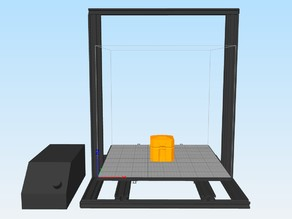 CR-10S4 Printer Model for Simplify3d