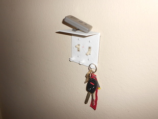 Light Switch Cover - Key Holder