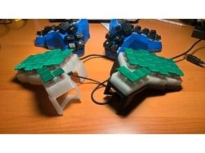 Ergonomic Keyboard Crocodox 2 (Matias switches)