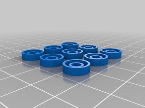 Hotbed spring washers - Geeetech i3