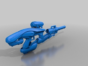 Destiny Exotic Fusion Rifle Vex Mythoclast 1:1 Scale