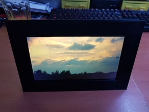 Kindle Fire 5th gen picture frame reuse