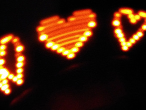 Attiny85 10 LED POV