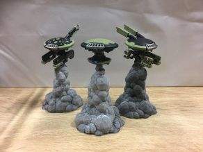 Warhammer Flight Stand (32mm)