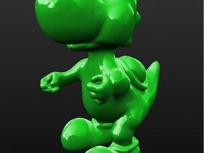 Nintendo Yoshi Print