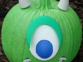 Sully & Mike Wazowski - Jack-O-Lantern accessories