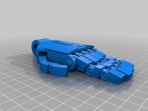 Poseable robot hand inspired by K2SO Version 2.0