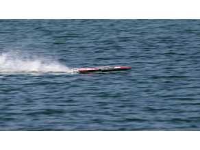 RC Straightaway SAW Mono Boat (Mold) very fast