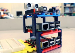 Stacking Clip for Raspberry Pi, Arduino, Breadboards, and More