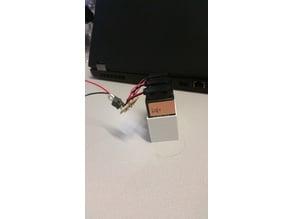 Akkupack 3x9V (+ voltage regulator) = 24V