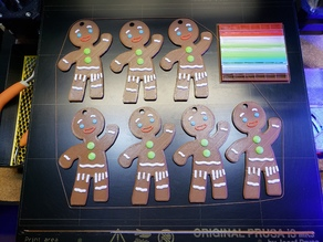 Five Color Gingerbread Man Remix