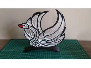 """Quilling """"Swan"""" Stand (Remix)"""
