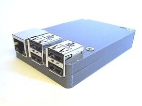 slim Raspberry Pi 2/B+ case