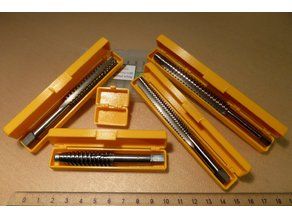 Small Storage Boxes for Tap, Drill, End Mill or Tools