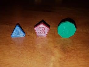 Boardgame coins (pièces jeux de société)