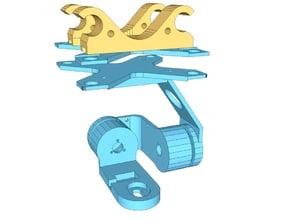 Mobius 2 axis gimbal