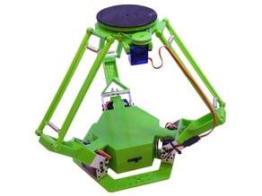 3D Printed Delta Robot (Servo Driven)