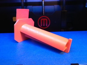 Makerbot2 Spindle for 30 CM Spool.