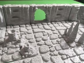 Cavern Tiles Passage/Hole (Openforge 2.0 compatible) 2x2 Wall Remix