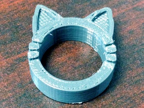 Cat Kitty Ring