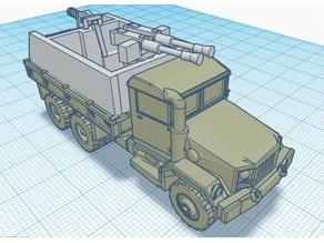 Vietnam Guntruck 7 1.100 scale