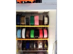 Armoire chauffée pour filaments prêts à l'emploi