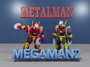 METALMAN from MEGAMAN2.